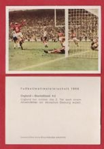 England v West Germany Charlton Hunt Peters @ Wembley